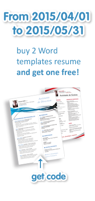 buy a word template resume and get one free